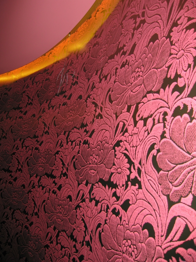 Wallpaper in the Melbourne Room