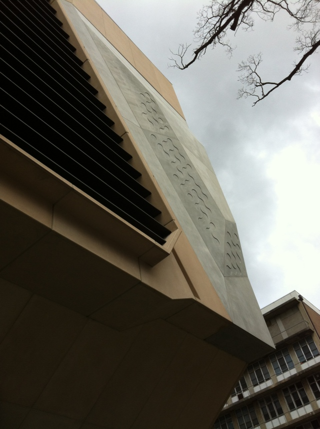 Facade Detail (The Melbourne Brain Centre)