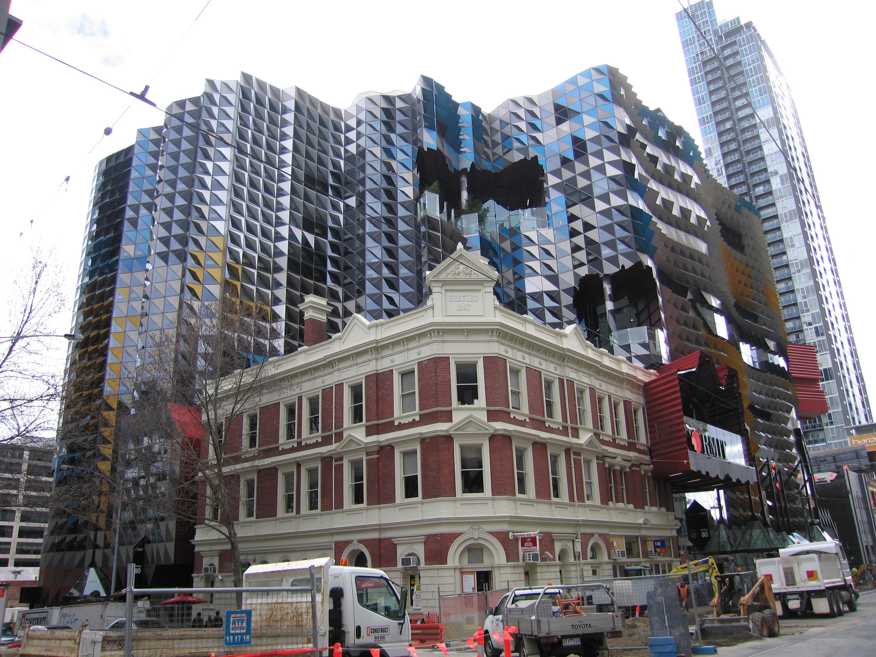 Building Updates – RMIT New Academic Street