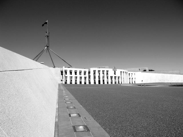 Parliament House and Forecourt