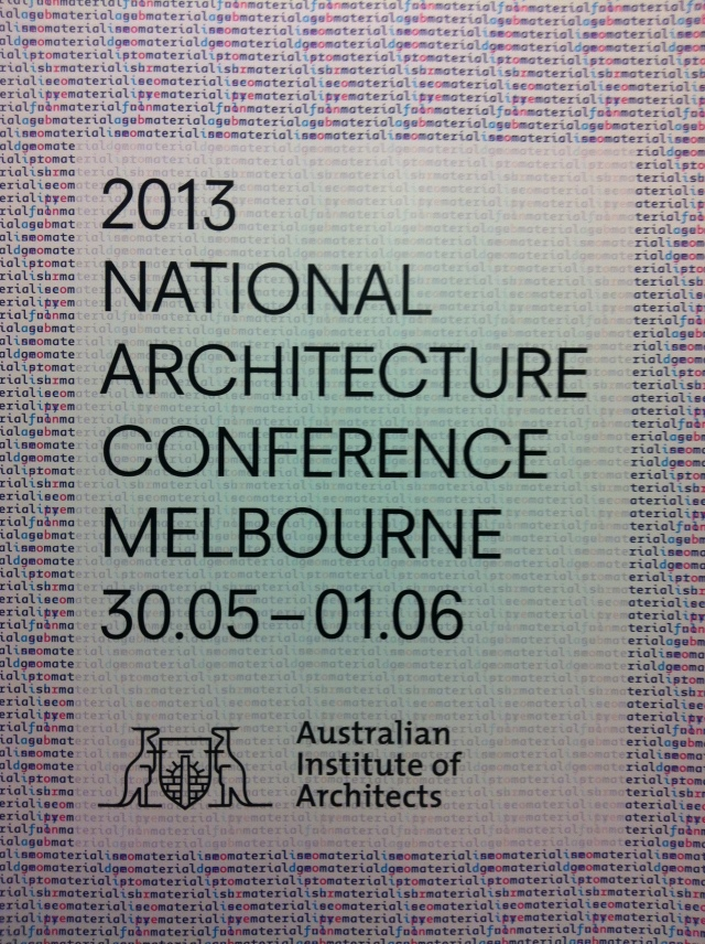 2013 National Architecture Conference Banner