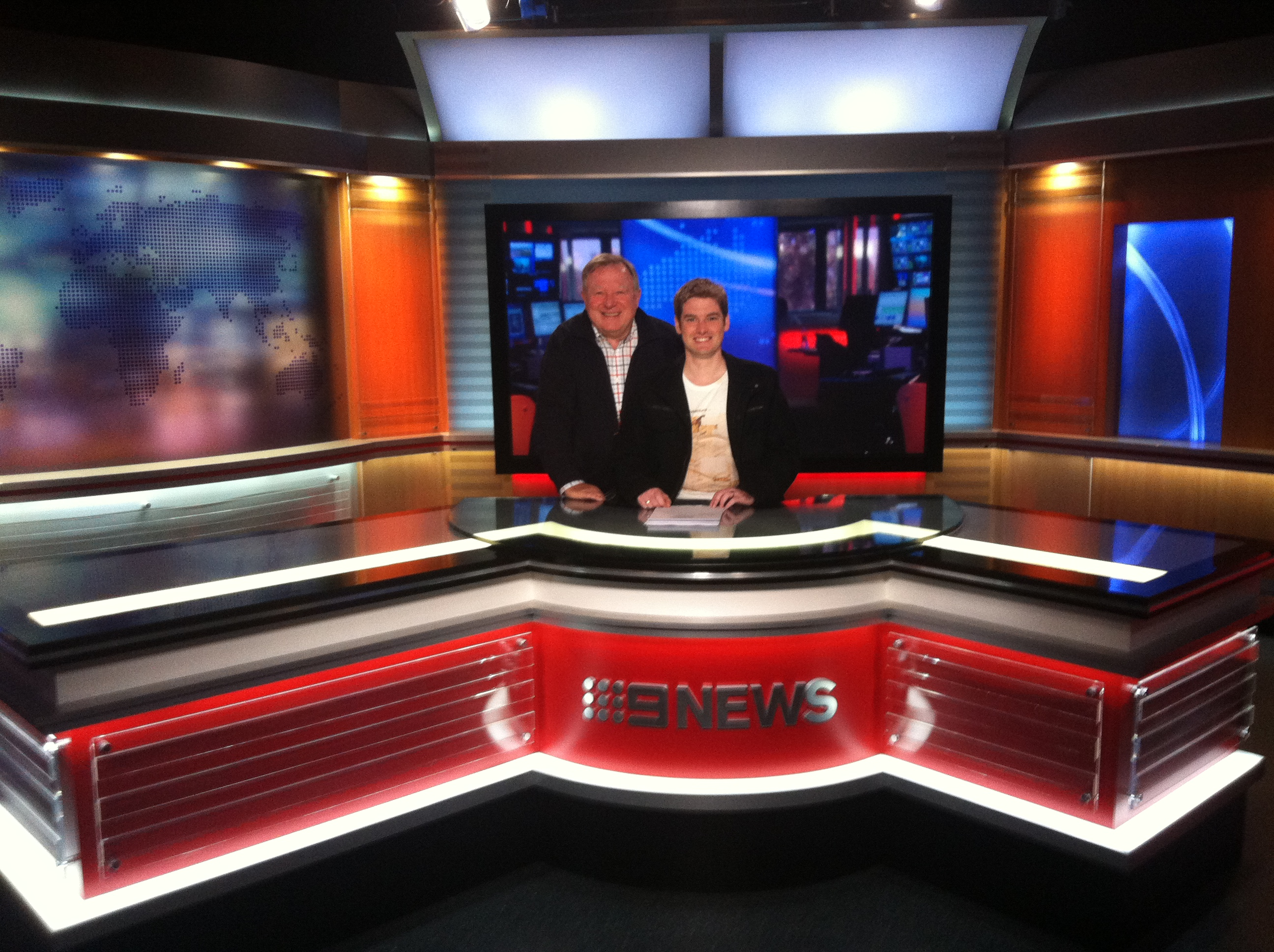 Seven 17 Bourke, A visit to the Channel Nine Studio – The