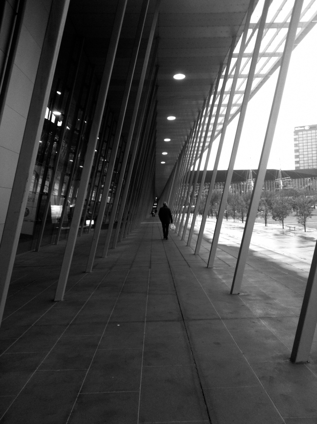 Journey to the conference via the Melbourne Exhibition Centre by Denton Corker Marshall