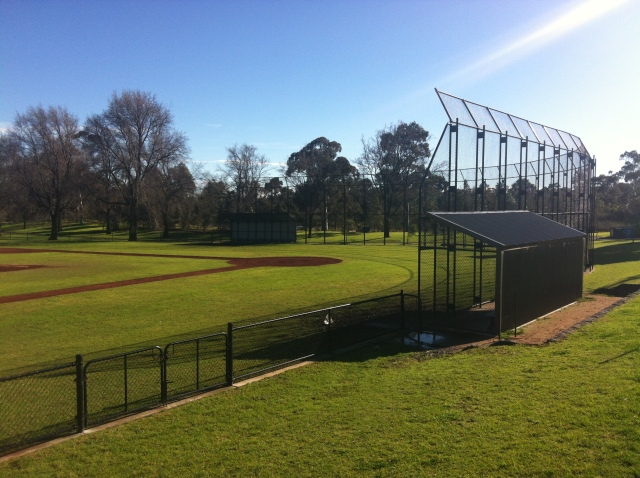 Endangered: Ross Straw Field Baseball Diamond