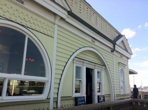 St Kilda Pier Kiosk replica built 2006