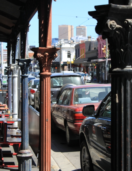 Columns on Brunswick Street