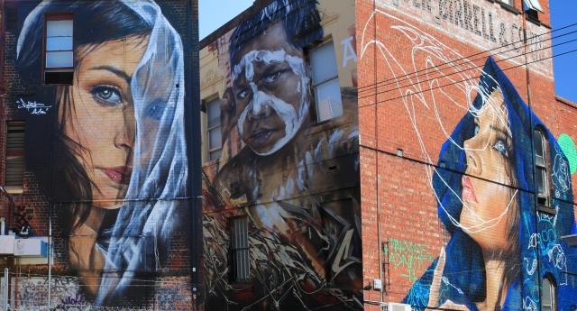 Amazing large scale street art