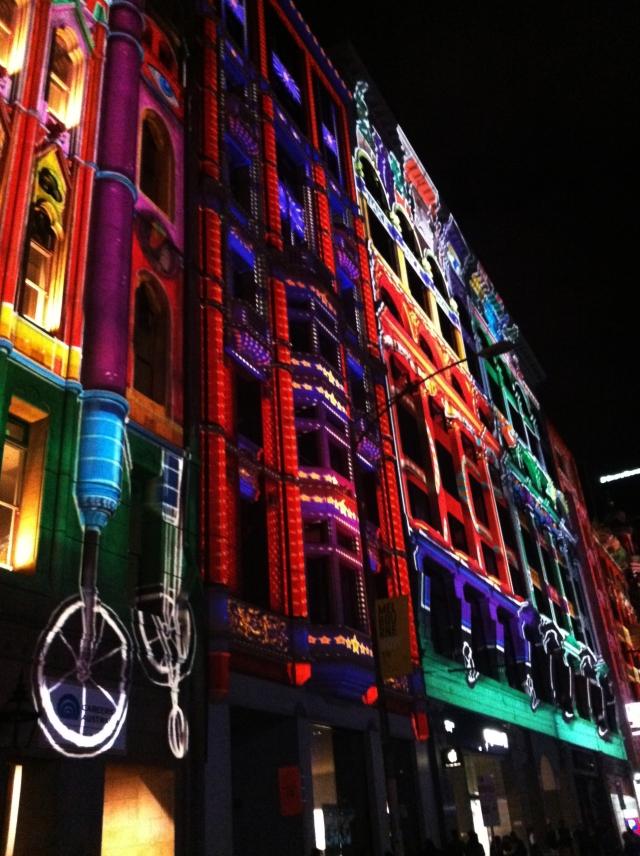 Flinders Street Illuminated