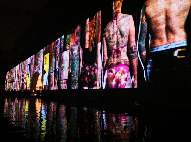Tattooed City, National Gallery of Victoria Illuminated