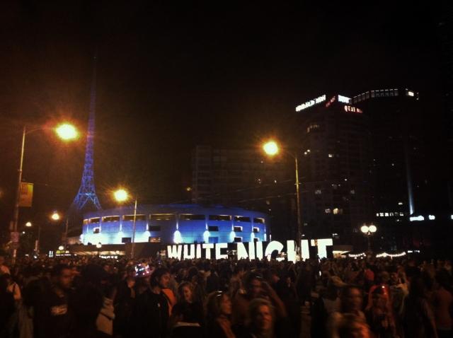 White Night Melbourne 2014