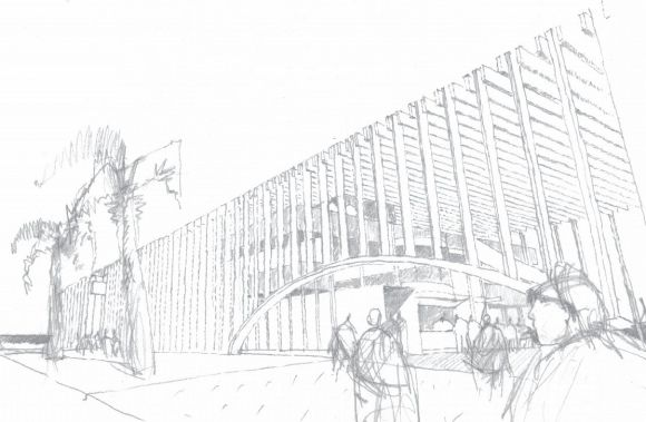 Sean Godsell Architects Stokehouse entry