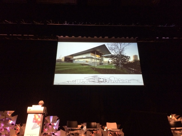 Elizabeth Watson Brown discussing modest open Queensland Architecture
