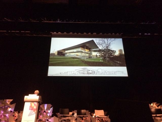 Elizabeth Watson Brown discussing modest open Queensland Architecture