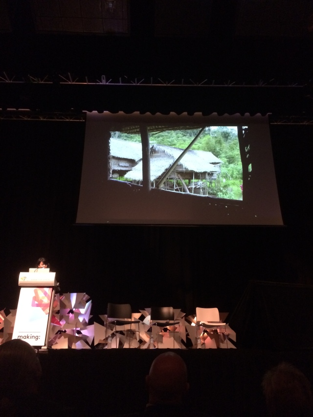 Wen Hsia Ang talking Traditional Orang Asli Architecture