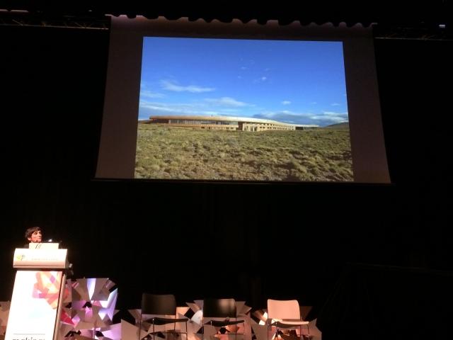 Cazu Zegers presenting sublime site-merging Architecture