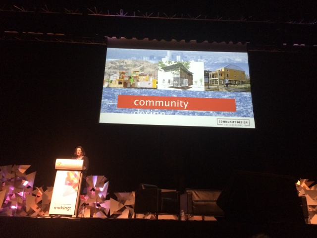 Beth Miller talking community engagement