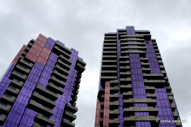 The award winning Quays Towers by MCR