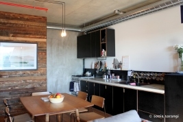 An Apartment Kitchen and Living Space