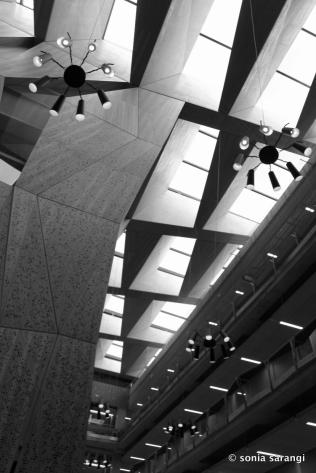 University of Melbourne ABP Building Central Atrium Skylights