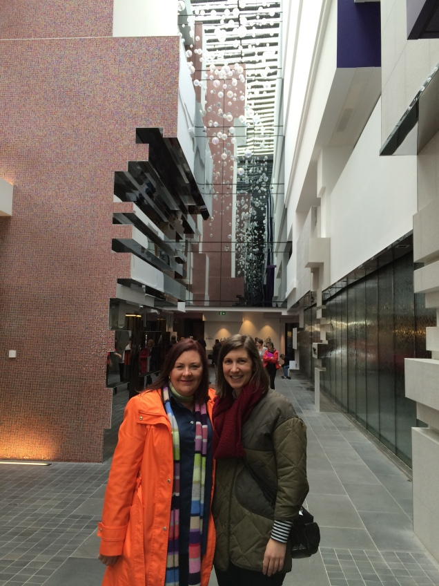 The Quays Architects Debbie Ryan and Beth Solomon from McBride Charles Ryan