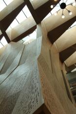 Exquisite timber detailing