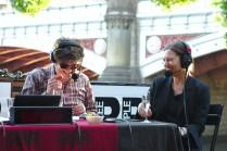 Stuart Harrison and Kerstin Thompson (Photo: Danny Robson)