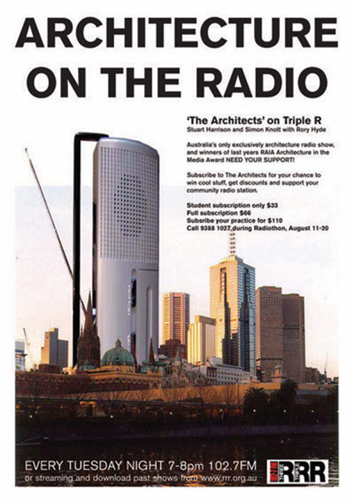 The Architects live from Eureka Tower flyer