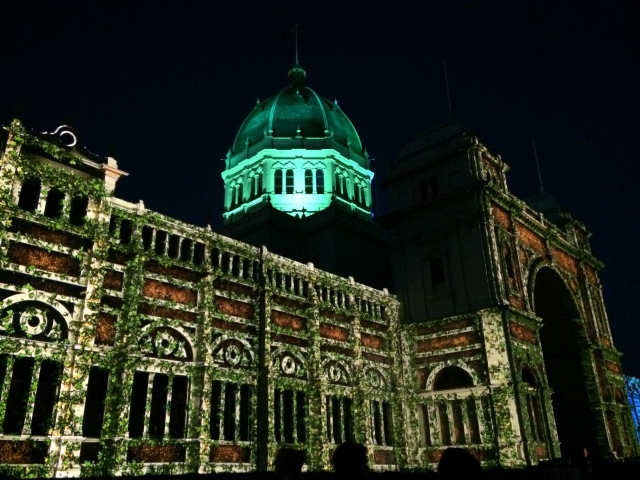 Royal Exhibition Building White Night 4