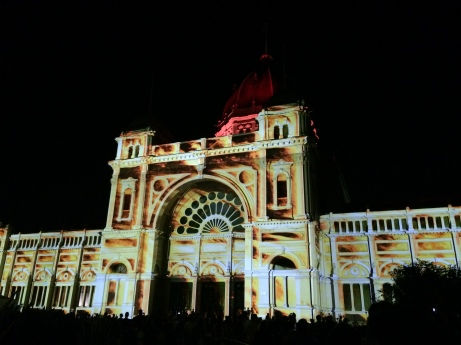 Royal Exhibition Building White Night 3
