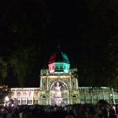 Royal Exhibition Building White Night 1