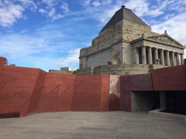 The Shrine of Remembrance, original design by Phillip Hudson and James Wardrop and contemporary additions by ARM Architecture