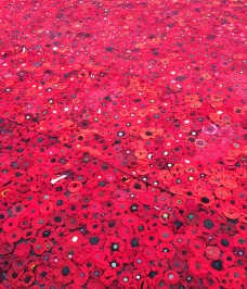 poppy tribute detail