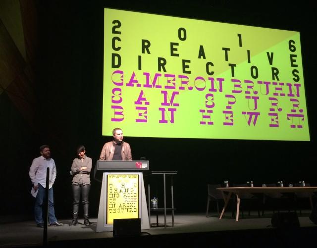 2016 Creative directors