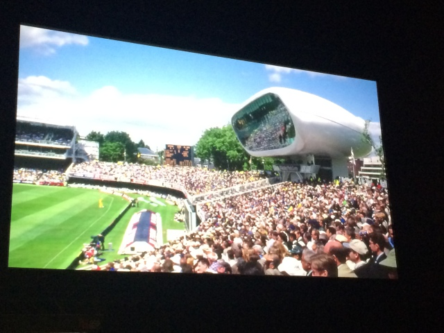 Media Centre at Lord's Cricket ground