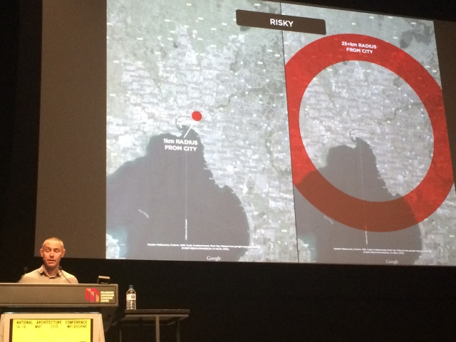 Areas of Melbourne at risk