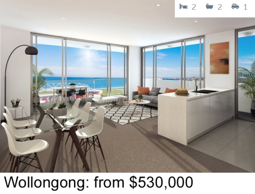 Wollongong 2 bed