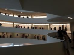 view across the atrium void