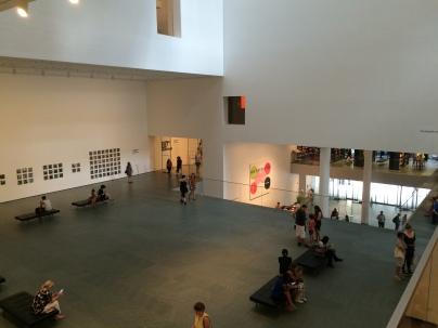 Museum of Modern Art, New York main atrium space