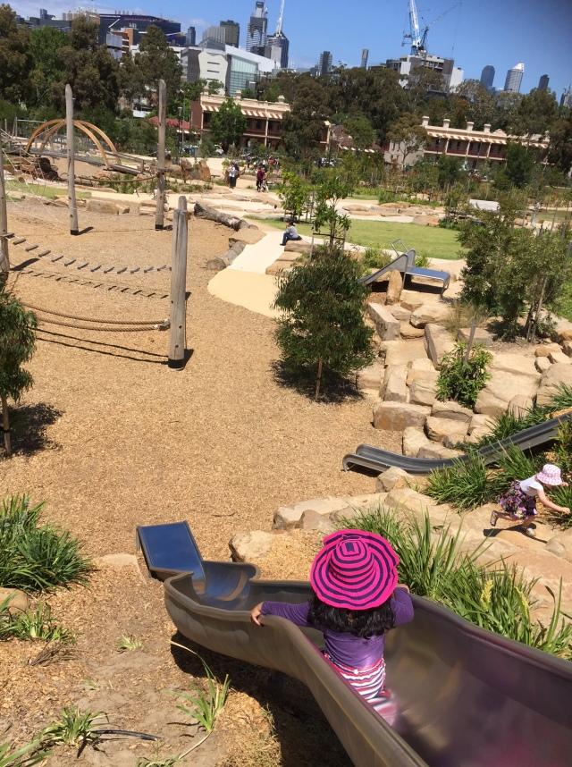 Return to Royal Park slide