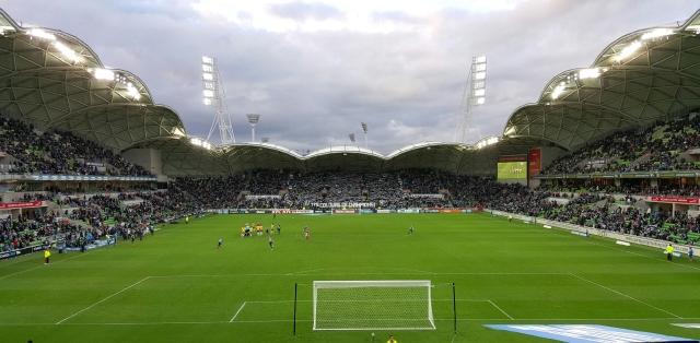 Melbourne Rectangular Stadium by Cox Architects Photo credit: Christopher Falzon