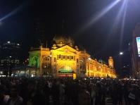 Flinders Street during White Night 2016