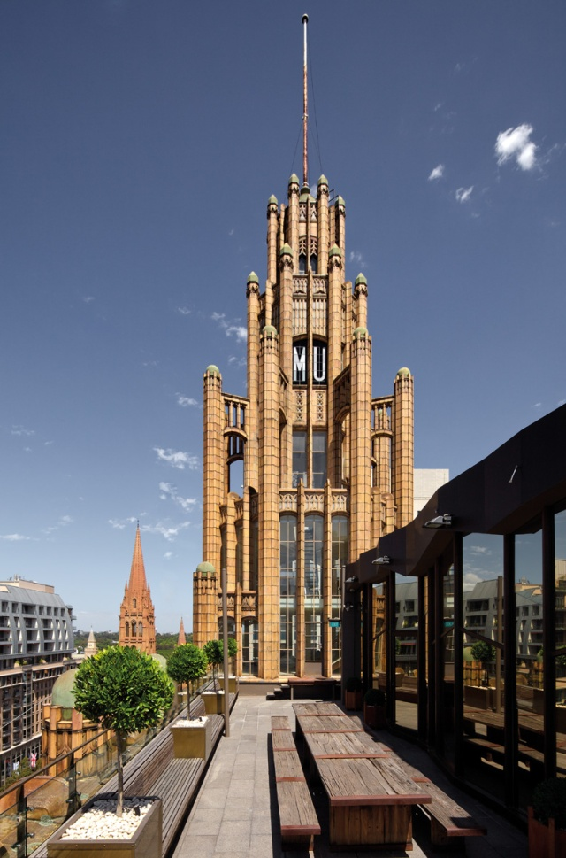 Manchester Unity Building tower Image source: www.manchesterunitybuilding.com.au/