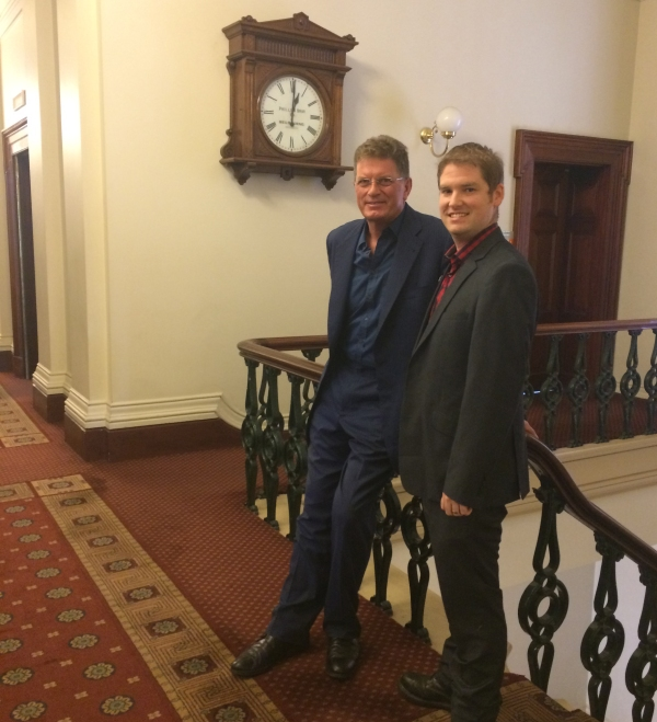 Ted Baillieu and Michael Smith 2