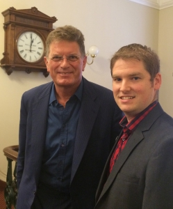 Ted Baillieu and Michael Smith