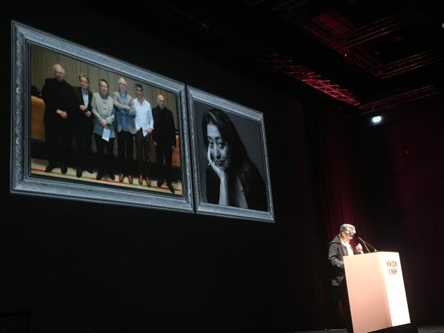 Nasrine Seraji remembering Zaha Hadid
