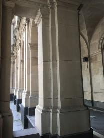 Supreme Court colonnade