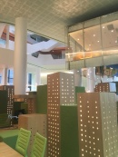 City inspired fitout by architects Russell and George