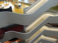 Medibank stairscases 2