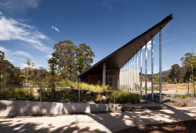 Marysville Police Station by Kerstin Thompson Architects. (Photo credit: Trevor Mein)